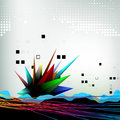 Abstract design background creative elements Stock Photos