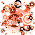 Abstract design with circles Stock Photography