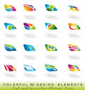 Abstract design elments Royalty Free Stock Photos