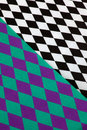 Abstract diamond background pattern check or Stock Image