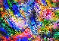 Abstract Digital Fractal  Colo...