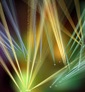 Abstract disco lights Stock Image