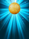 Abstract disco party lights background. EPS 8 Royalty Free Stock Photo