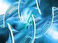 Abstract DNA Stock Photo