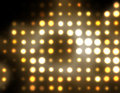 Abstract dots golden Stock Image