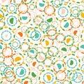 Abstract Dotty Retro Circles. ...