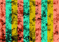 Abstract drawn grunge colorful background with vertical stripes Royalty Free Stock Photo