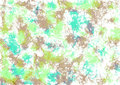 Abstract drawn watercolor crumpled bright background with brushstrokes in green and brown colors. Royalty Free Stock Photo