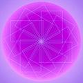 Abstract dream catcher design over graduated light purple