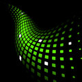 Abstract dynamic green background Royalty Free Stock Photos