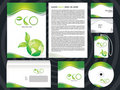 Abstract eco based corporate design template Stock Image