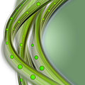 Abstract eco wave design