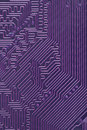 Abstract electronic computer violet background Royalty Free Stock Photo