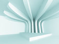 Abstract Empty Design Column Interior Background Royalty Free Stock Photo