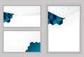 Abstract envelope Modern Design template Royalty Free Stock Photo
