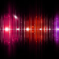 Abstract Equalizer Music Background Royalty Free Stock Photo