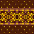 Abstract ethnic pattern seamless in african style Stock Photography