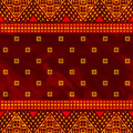 Abstract ethnic pattern seamless african style Stock Images