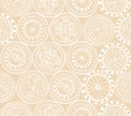Abstract Ethnic Seamless Background. Floral line texture. Royalty Free Stock Photo