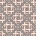 Abstract fashionable geometrical seamless pattern
