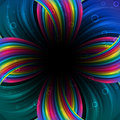 Abstract festive rainbow background Royalty Free Stock Image