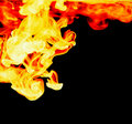 Abstract fire background Royalty Free Stock Photo