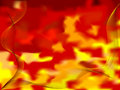 Abstract fire wave Stock Image