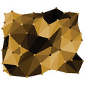 Abstract flat design low poly