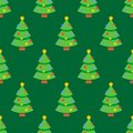 Abstract flat style seamless christmas pattern Royalty Free Stock Photo