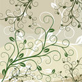 Abstract floral background with place for your tex Royalty Free Stock Image