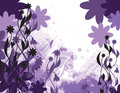 Abstract floral background vector illustration eps Stock Photography