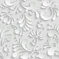 Abstract Floral 3d Seamless Pa...