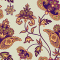 Abstract floral geomatric pattern Flower oriental background Royalty Free Stock Photo