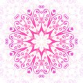 Abstract  floral ornamental background. Ornament in east style.Vector illustration Royalty Free Stock Photo
