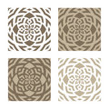 Abstract floral patterns Royalty Free Stock Photo