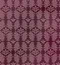 Abstract floral seamless texture leaves pattern on purple background Royalty Free Stock Photography