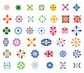 Abstract Floral Shapes Royalty Free Stock Photo