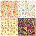Abstract floral wallpapers Royalty Free Stock Photo
