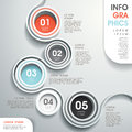 Abstract flow chart infographics Royalty Free Stock Photo