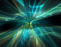 Abstract flow of energy modern technology background Royalty Free Stock Photo