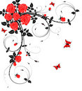 Abstract flower background Royalty Free Stock Photo