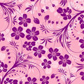 Abstract flower pattern Royalty Free Stock Image