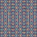 Abstract flower pattern wallpaper. Vector illustration. Seamless background. Royalty Free Stock Photo