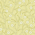 Abstract flowers floral beige seamless background Stock Image