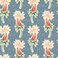 Abstract flowers pattern Stock Photos