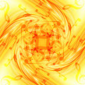 Abstract flowing fire background with notes Stock Photos