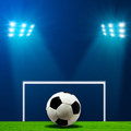 Abstract football or soccer backgrounds Stock Photo