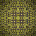 Abstract forged golden flower pattern Stock Images