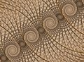 Abstract fractal background, spiral Royalty Free Stock Photo