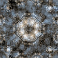 Abstract fractal seamless pattern Royalty Free Stock Images